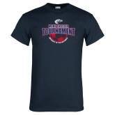 Navy T Shirt-Mens Soccer Tournament