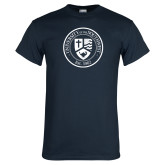 Navy T Shirt-University Seal