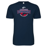 Next Level SoftStyle Navy T Shirt-Mens Soccer Tournament