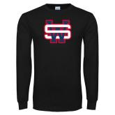 Black Long Sleeve T Shirt-SW