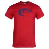 Red T Shirt-Horse Head