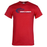Red T Shirt-Mustangs Flat