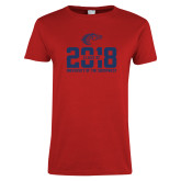 Ladies Red T Shirt-Class of