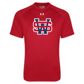 Under Armour Red Tech Tee-SW