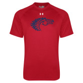 Under Armour Red Tech Tee-Horse Head