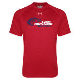 Under Armour Red Tech Tee-Lady Mustang Track and Field