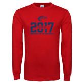 Red Long Sleeve T Shirt-Class of