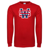 Red Long Sleeve T Shirt-SW