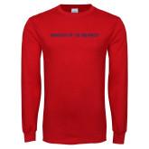 Red Long Sleeve T Shirt-University of the Southwest