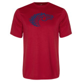 Performance Red Tee-Horse Head