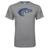 Grey T Shirt-Horse Head