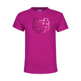 Youth Cyber Pink T Shirt-SW  Foil