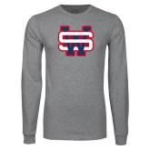 Grey Long Sleeve T Shirt-SW