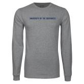 Grey Long Sleeve T Shirt-University of the Southwest