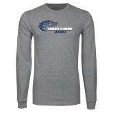 Grey Long Sleeve T Shirt-Alumni