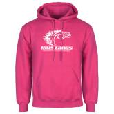 Fuchsia Fleece Hoodie-Primary Mark