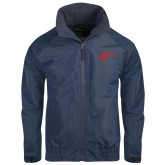 Navy Charger Jacket-Horse Head
