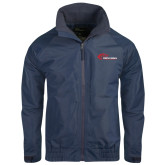 Navy Charger Jacket-Mustangs Flat