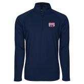 Sport Wick Stretch Navy 1/2 Zip Pullover-SW