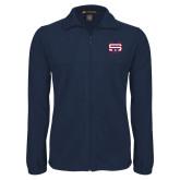 Fleece Full Zip Navy Jacket-SW