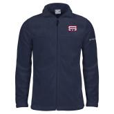 Columbia Full Zip Navy Fleece Jacket-SW