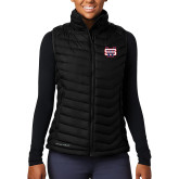 Columbia Lake 22 Ladies Black Vest-SW