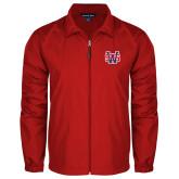 Full Zip Red Wind Jacket-SW