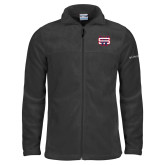 Columbia Full Zip Charcoal Fleece Jacket-SW