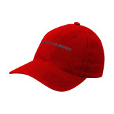Red OttoFlex Unstructured Low Profile Hat-University of the Southwest