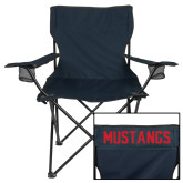 Deluxe Navy Captains Chair-SW