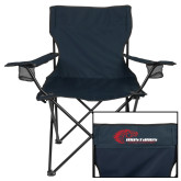 Deluxe Navy Captains Chair-Mustangs Flat