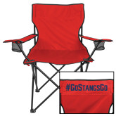 Deluxe Red Captains Chair-Go Stangs Go