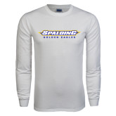 White Long Sleeve T Shirt-Word Mark