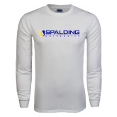 White Long Sleeve T Shirt-Spalding University