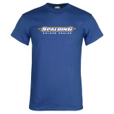 Royal Blue T Shirt-Word Mark