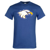 Royal Blue T Shirt-Eagle Head