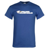 Royal Blue T Shirt-Spalding Golden Eagles