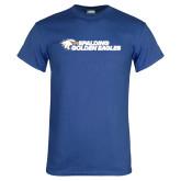 Royal T Shirt-Spalding Golden Eagles