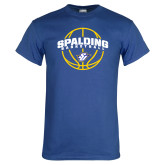 Royal Blue T Shirt-Basketball