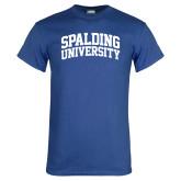 Royal T Shirt-Spalding University Arched