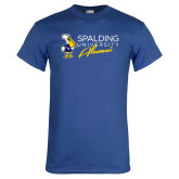 Royal Blue T Shirt-Spalding University Alumni
