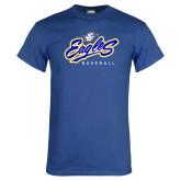 Royal T Shirt-Eagles Baseball