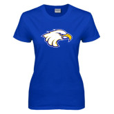 Ladies Royal T Shirt-Eagle Head