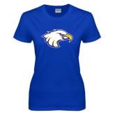 Ladies Royal T Shirt-Eagle Head