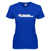 Ladies Royal T Shirt-Spalding Golden Eagles