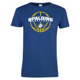 Ladies Royal T Shirt-Basketball