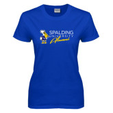 Ladies Royal T Shirt-Spalding University Alumni