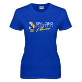 Ladies Royal T Shirt-Spalding University Alumni