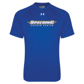 Under Armour Royal Tech Tee-Word Mark