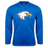 Syntrel Performance Royal Longsleeve Shirt-Eagle Head